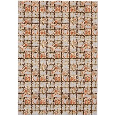 Mercer41 Reiff Orange Area Rug; Rectangle 10' x 13'2''