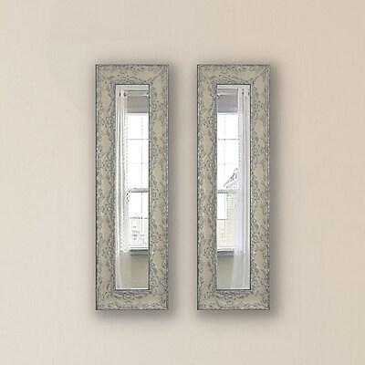 One Allium Way Albane Panel Mirror (Set of 2); 22'' H x 10'' W