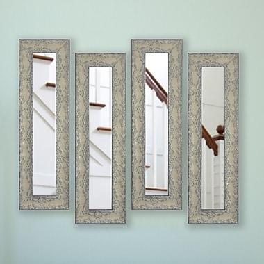 One Allium Way Albane Panel Mirror (Set of 4); 26'' H x 10'' W