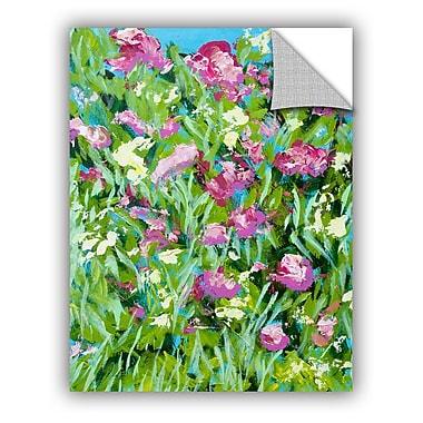 One Allium Way Malleny Garden Wall Mural; 18'' H x 14'' W x 0.1'' D