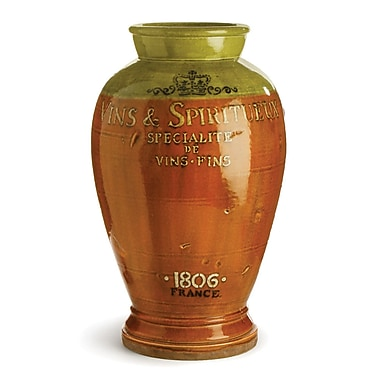 One Allium Way Brown Vins and Spiritueux Table Vase