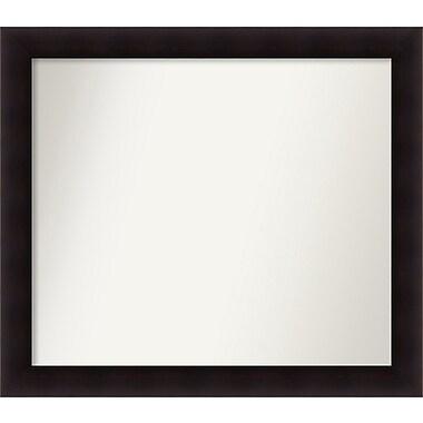 Red Barrel Studio Rectangle Wood Wall Mirror; 35.63'' H x 40.63 W'' x 0.88'' D