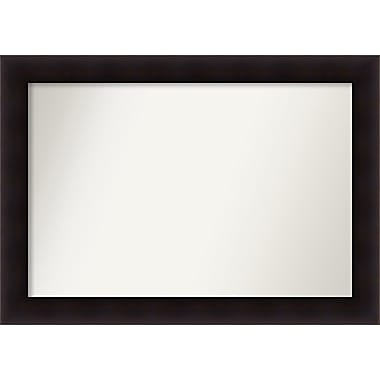 Red Barrel Studio Rectangle Wood Wall Mirror; 29.63'' H x 41.63 W'' x 0.88'' D