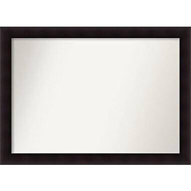 Red Barrel Studio Rectangle Wood Wall Mirror; 36.63'' H x 50.63 W'' x 0.88'' D