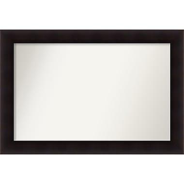Red Barrel Studio Rectangle Wood Wall Mirror; 27.63'' H x 40.63 W'' x 0.88'' D