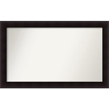 Red Barrel Studio Rectangle Wood Wall Mirror; 30.63'' H x 49.63 W'' x 0.88'' D