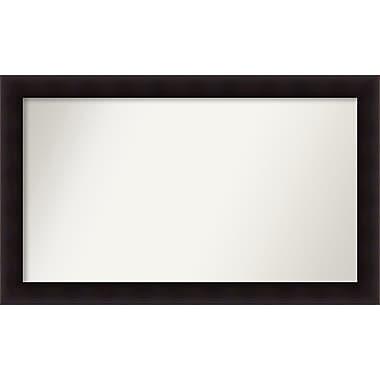 Red Barrel Studio Rectangle Wood Wall Mirror; 30.63'' H x 50.63 W'' x 0.88'' D