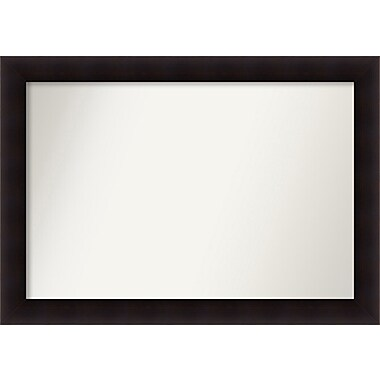 Red Barrel Studio Rectangle Wood Wall Mirror; 31.63'' H x 44.63 W'' x 0.88'' D