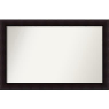 Red Barrel Studio Rectangle Wood Wall Mirror; 32.63'' H x 50.63 W'' x 0.88'' D