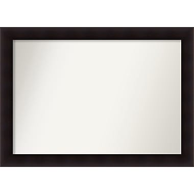 Red Barrel Studio Rectangle Wood Wall Mirror; 33.63'' H x 46.63 W'' x 0.88'' D