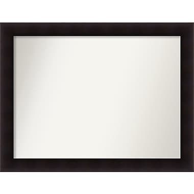 Red Barrel Studio Rectangle Wood Wall Mirror; 33.63'' H x 43.63 W'' x 0.88'' D