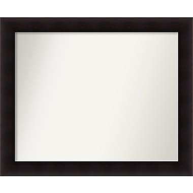 Red Barrel Studio Rectangle Wood Wall Mirror; 32.63'' H x 39.63 W'' x 0.88'' D