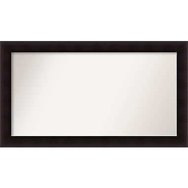 Red Barrel Studio Rectangle Wood Wall Mirror; 28.63'' H x 50.63 W'' x 0.88'' D