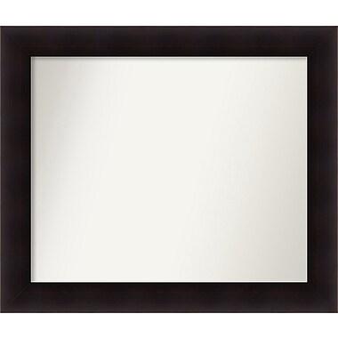 Red Barrel Studio Rectangle Wood Wall Mirror; 28.63'' H x 33.63 W'' x 0.88'' D