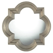 One Allium Way Silver and Champagne Metal Wall Mirror