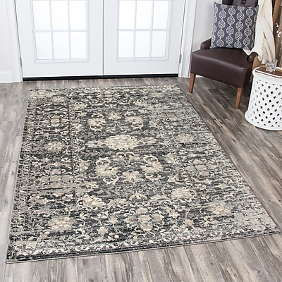 Ophelia & Co. Burleigh Gray Area Rug; 3'3'' x 5'3''