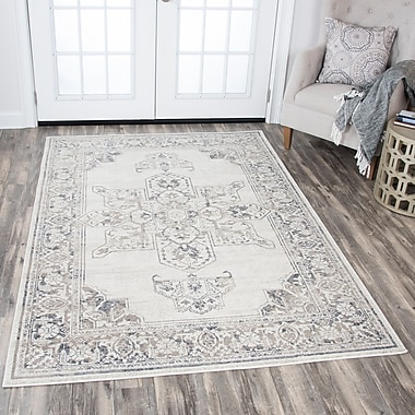 Ophelia & Co. Aster Natural Area Rug; 3'3'' x 5'3''