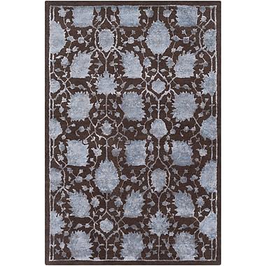Ophelia & Co. Arida Hand-Tufted Brown Area Rug; 8' x 10'