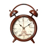 Ophelia & Co. Eiffel Tower Old World-Inspired Tabletop Clock