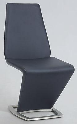 Orren Ellis Marielle Side Chair; Black