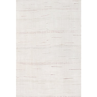 Pasargad Turkish Kilim Hemp Hand-Woven Ivory Area Rug