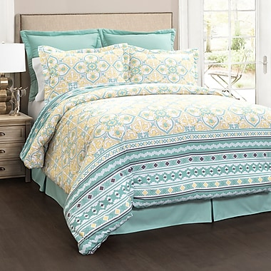Red Barrel Studio Blanchard 6 Piece Comforter Set; King