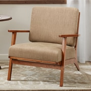 Red Barrel Studio Clear Creek Exposed Wood Armchair