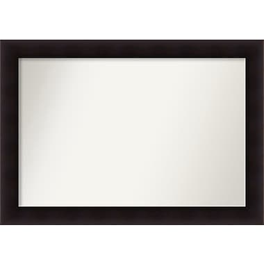 Red Barrel Studio Rectangle Wood Wall Mirror; 30.63'' H x 43.63 W'' x 0.88'' D