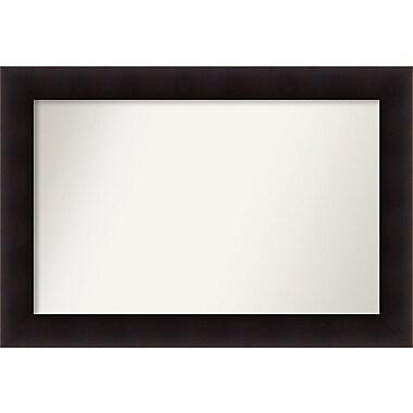 Red Barrel Studio Rectangle Wood Wall Mirror; 25.63'' H x 37.63 W'' x 0.88'' D