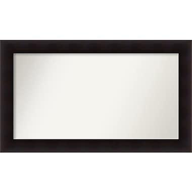 Red Barrel Studio Rectangle Wood Wall Mirror; 25.63'' H x 43.63 W'' x 0.88'' D