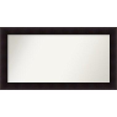 Red Barrel Studio Rectangle Wood Wall Mirror; 25.63'' H x 47.63 W'' x 0.88'' D