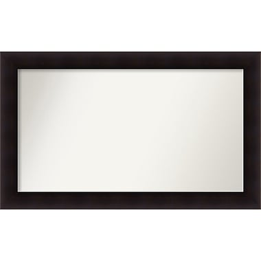Red Barrel Studio Rectangle Wood Wall Mirror; 27.63'' H x 45.63 W'' x 0.88'' D