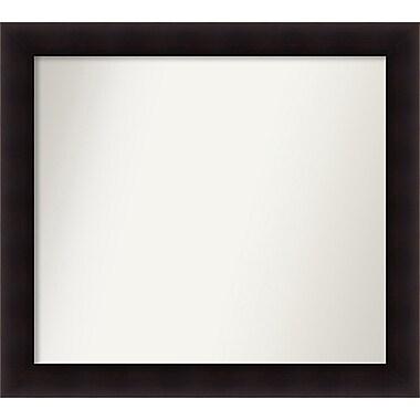 Red Barrel Studio Rectangle Wood Wall Mirror; 33.63'' H x 37.63 W'' x 0.88'' D