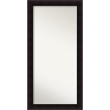 Red Barrel Studio Rectangle Wood Wall Mirror; 56.63'' H x 28.63 W'' x 0.88'' D