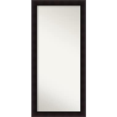 Red Barrel Studio Rectangle Wood Wall Mirror; 63.63'' H x 29.63 W'' x 0.88'' D