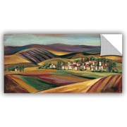 Red Barrel Studio Agne Village Valley I Wall Mural; 12'' H x 24'' W x 0.1'' D