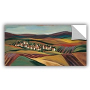 Red Barrel Studio Agne Village Valley II Wall Mural; 24'' H x 48'' W x 0.1'' D