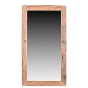 Union Rustic Rectangle Reclaimed Accent Wall Mirror; 78'' H x 36'' W x 1'' D