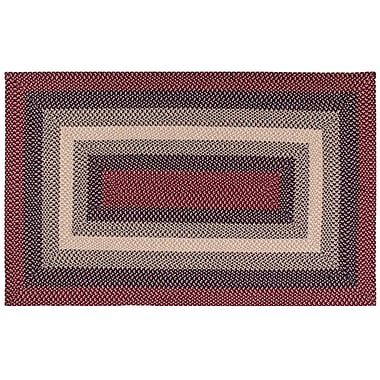 August Grove Monnie Cranberry Area Rug; 5' x 7'