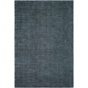 Williston Forge Laraine Hand-Loomed Charcoal/Denim Area Rug; 2' x 3'