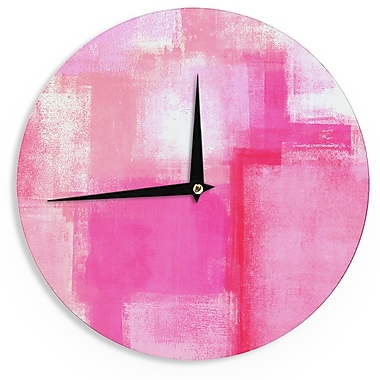 East Urban Home CarolLynn Tice 'Running Late' 12'' Wall Clock