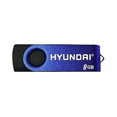 Hyundai Bravo Keychain 8GB USB 2.0 Flash Drive (MHYU2BK8G)