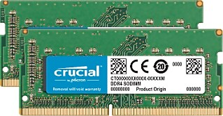 Crucial™ CT2K16G4S24AM 32GB (2 x 16GB) DDR4 SDRAM UDIMM 260-Pin DDR4-2400/PC4-19200 Memory Module Kit