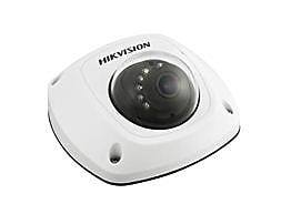 Hikvision® DS-2CD2532F-I Wired/Wireless Outdoor Network Mini Dome Camera, 3MP, White