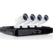 Night Owl AHD10-841 Wired 8 Channel Smart HD Video Security System with 4 x 1080p HD Cameras