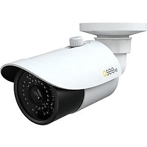 Q-See® QTN8086B White 8MP Wired Network Bullet Camera