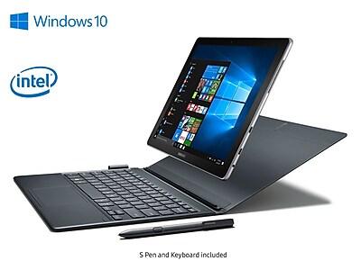 """""Samsung Galaxy Book SM-W720NZKA 12"""""""" 2-in-1 PC Bundle with Adapter & Pencil, Intel Core i5, 256GB, 8GB, Windows 10 Home"""""" IM11AQ226"