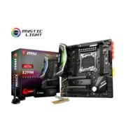 msi 64GB Micro ATX Desktop Motherboard, R4 LGA-2066 Socket (X299MPROCARBONAC)