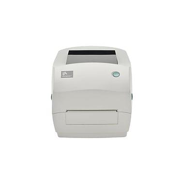Zebra® GC420t GC420 Series Thermal Transfer Value Desktop Printer, Serial/USB/Serial, White