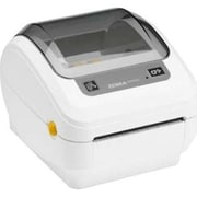 Zebra® GK420 GK Series Direct Thermal Label Printer, LAN/USB, Black/Gray